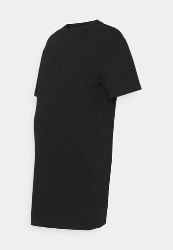 JERSEY DRESS - Sukienka z dżerseju - black