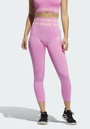 TRAINING AEROKNIT HIGH-RISE 7/8-TIGHT - Medias - pink
