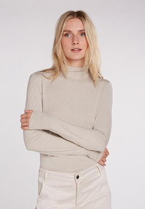 MIT LANGEN ARMEN - Long sleeved top - light stone