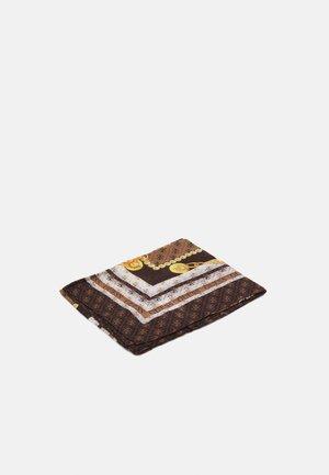 WASHINGTON PRINTED KEFIAH - Foulard - brown/multi
