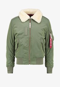 Alpha Industries - INJECTOR III - Bomber Jacket - sage green