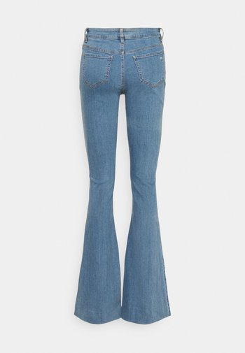 CHARLOTTE WARSZAWA - Jean flare - denim blue