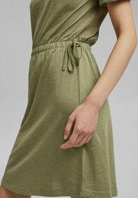 Esprit - Jersey dress - light khaki - 3