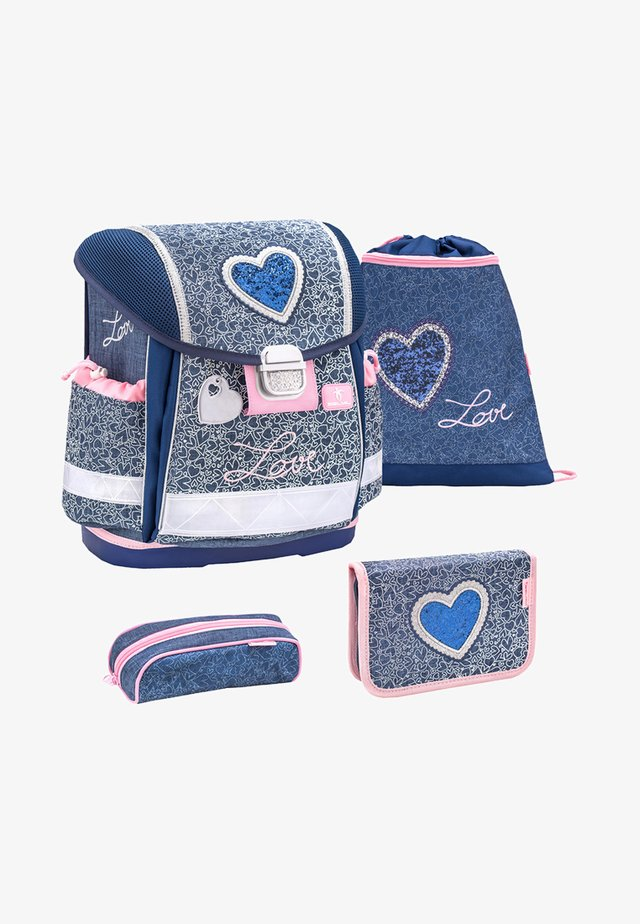 SET - School set - dirty denim
