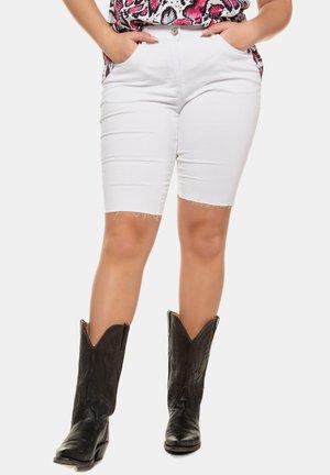 RADLER  - Denim shorts - weiß