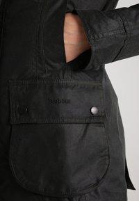 Barbour - BEADNELL WAX JACKET - Waterproof jacket - sage - 5