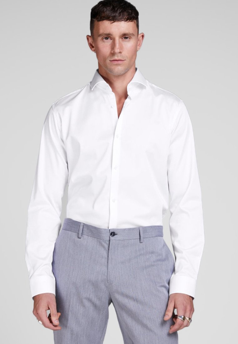 Jack & Jones - ELEGANTES - Zakelijk overhemd - white