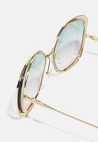 CHLOÉ - Sunglasses - gold-coloured/green - 2