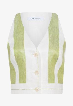 Blouse - moss green