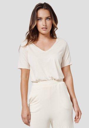 NIVIA - Basic T-shirt - new beige