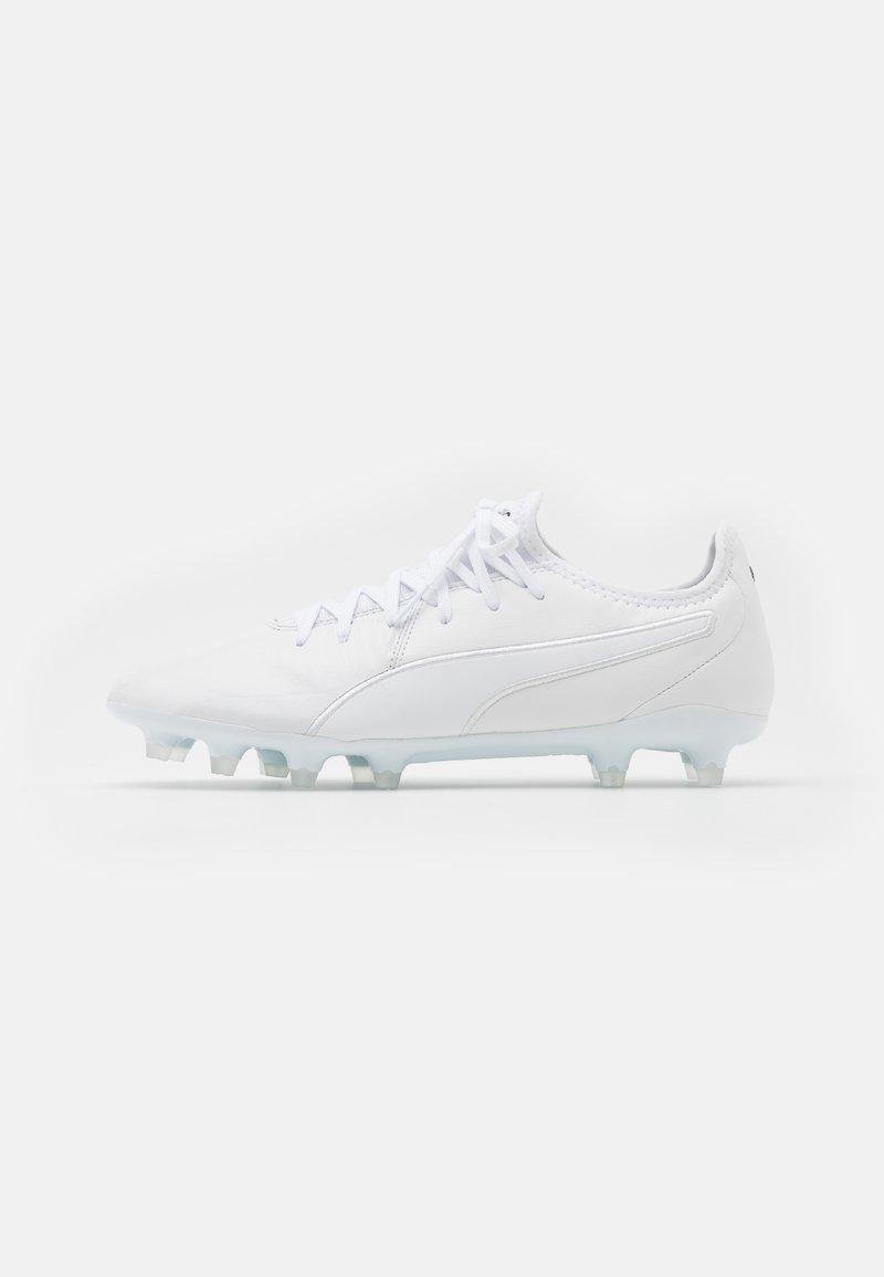 Puma - KING PRO FG - Voetbalschoenen met kunststof noppen - white