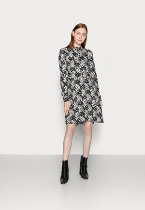 TALL MONO CHECK SWING MINI DRESS - Shirt dress - multi