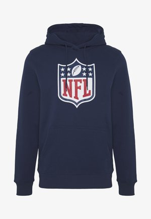 NFL ICONIC PRIMARY COLOUR LOGO GRAPHIC HOODIE - Jersey con capucha - navy