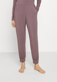 Calvin Klein Underwear - PERFECTLY FIT FLEX JOGGER - Pyjama bottoms - plum dust - 0