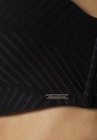 Boux Avenue - MADIERA DECO BALCONETTE - Top de bikini - black - 6