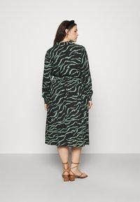 Kaffe Curve - ZALA DRESS - Day dress - black - 2