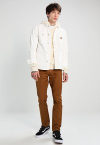 Carhartt WIP - MICHIGAN CHORE NEWCOMB - Summer jacket - off-white - 1