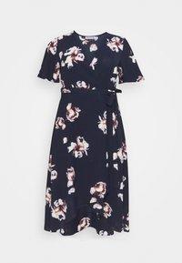 Anna Field Curvy - Day dress - blue/pink - 0