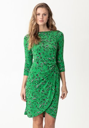 LOULOU - Robe en jersey - dark green
