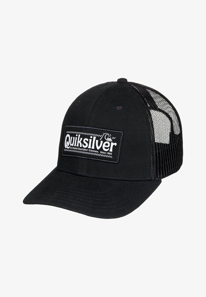 Quiksilver - BIG RIGGER - Cap - black