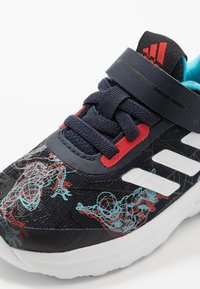 adidas Performance - FORTARUN SPIDER - Neutral running shoes - legend ink/vivid red/signal cyan - 5