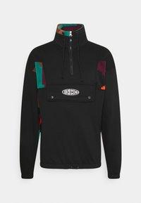 Grimey - DULCE HIGH NECK UNISEX - Sweatshirt - black - 0
