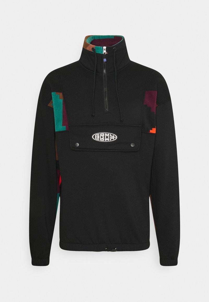 Grimey - DULCE HIGH NECK UNISEX - Sweatshirt - black