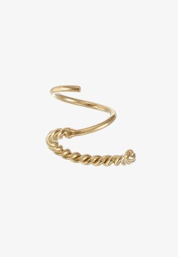 SOFIA TWIRL SINGLE - Boucles d'oreilles - gold hp