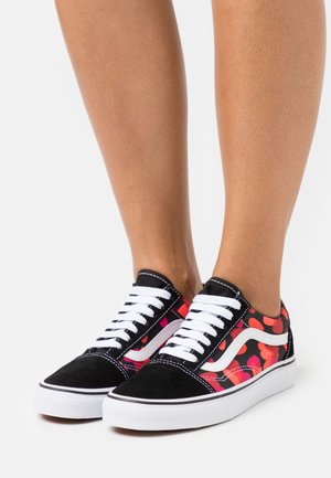 OLD SKOOL - Trainers - black/fuchsia purple