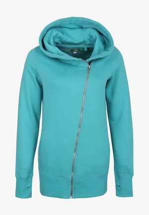 Zip-up hoodie - see-green