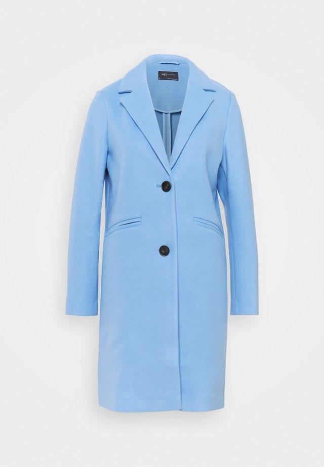 KNITBACK COAT - Klasický kabát - light blue