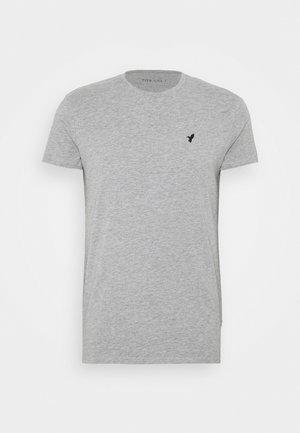 Jednoduché triko - mottled grey
