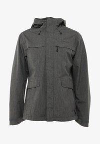 Vaude - ROSEMOOR JACKET - Waterproof jacket - iron - 5