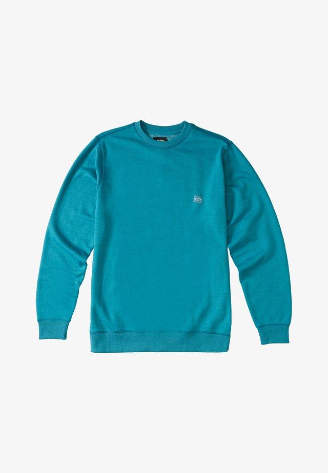 Sweatshirt - dark mint