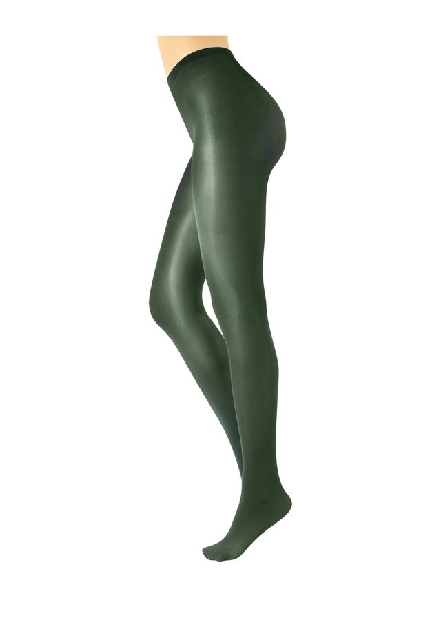 GLOSSY TIGHTS - Collant - green