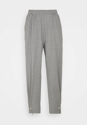 WITH TOGGLE AT HEM - Tracksuit bottoms - grey