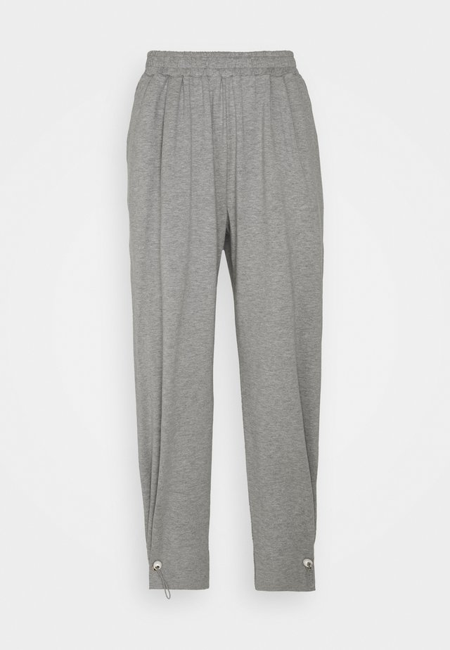 WITH TOGGLE AT HEM - Pantalon de survêtement - grey