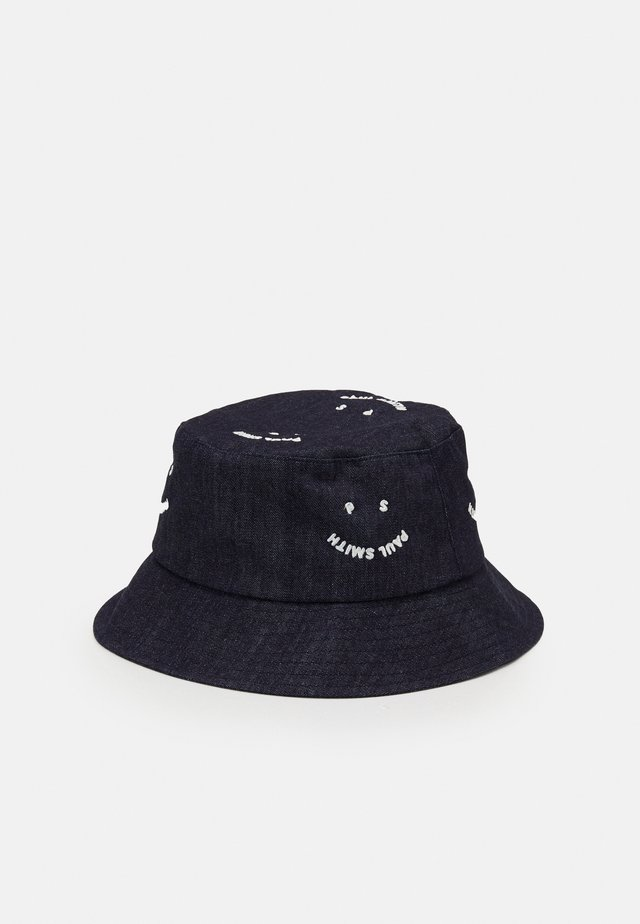 HAT BUCKET SMILE UNISEX - Čepice - navy