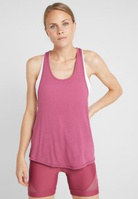 Cotton On Body - TWO IN ONE TANK - Top - rose sangria/coral sugar - 0