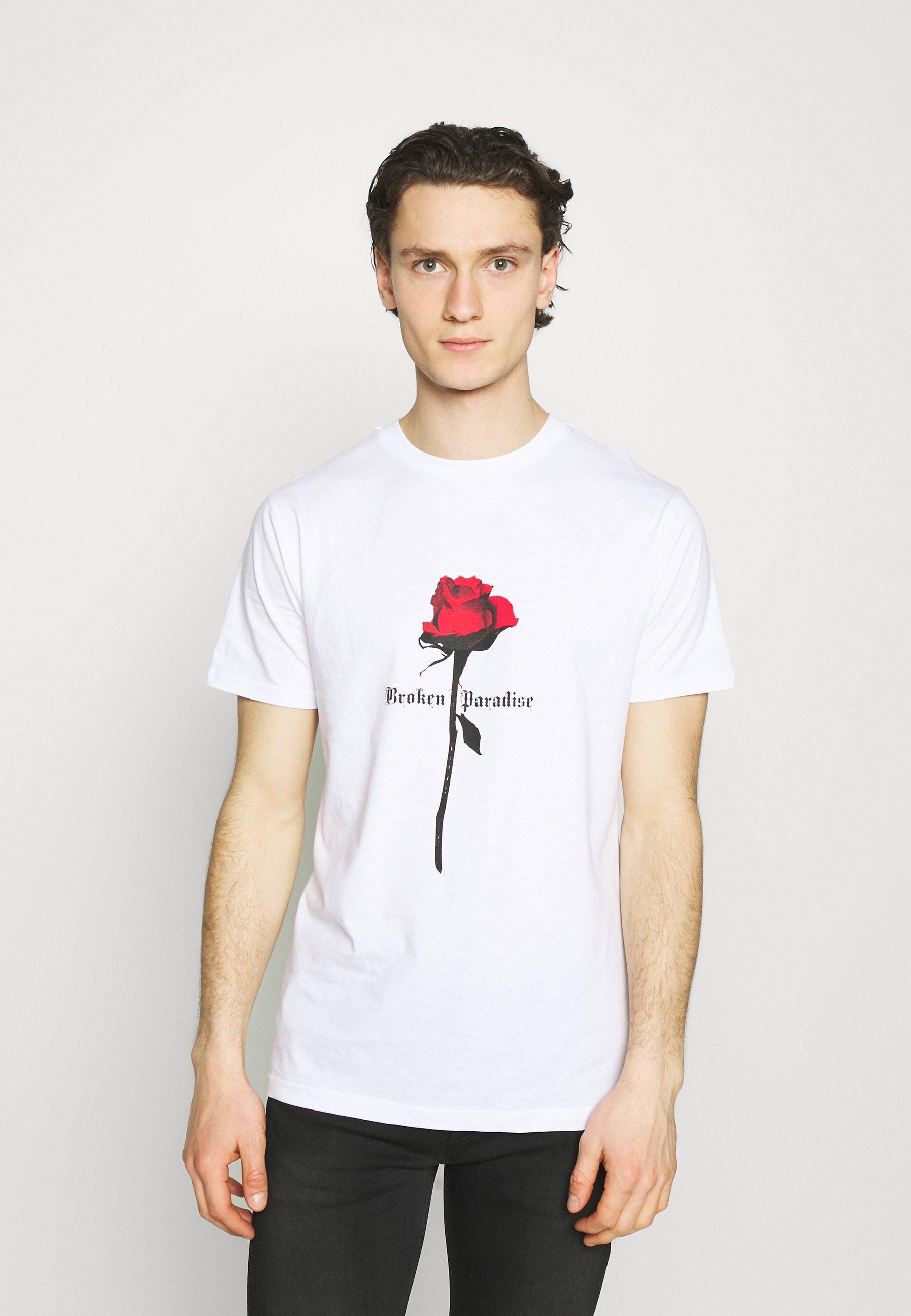 Men PARADISE ROSE TEE - Print T-shirt