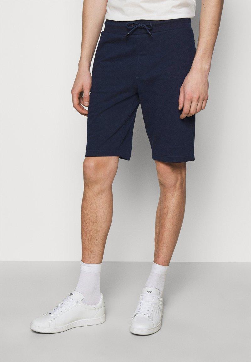 Emporio Armani - BERMUDA - Shorts - dark blue