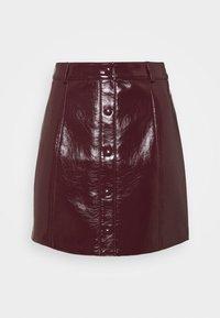 Glamorous - SKIRT - A-line skirt - burgundy - 4