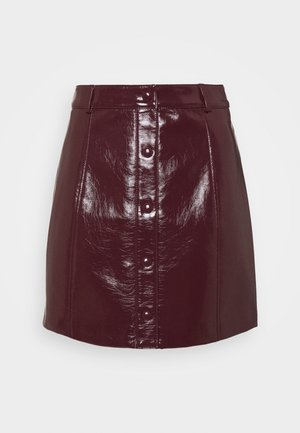 SKIRT - A-lijn rok - burgundy
