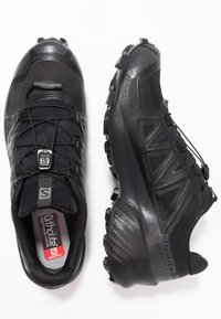 Salomon - SPEEDCROSS 5 GTX - Löparskor terräng - black/phantom - 1