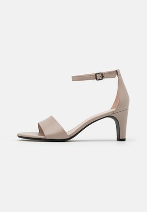 SHAPE SLEEK - Sandals - grey rose zennor