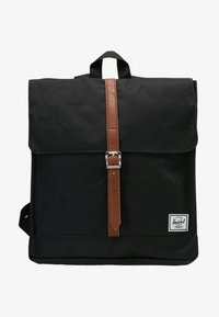 Herschel - CITY MID VOLUME - Rucksack - black/tan - 7