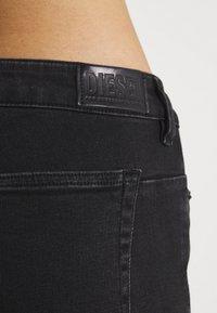 Diesel - D-JEVEL - Jeans Skinny Fit - washed black - 5