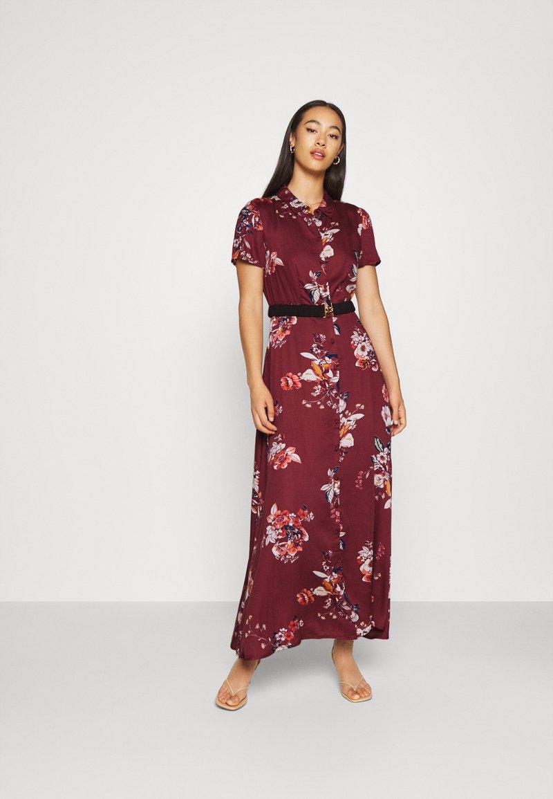 Vero Moda - VMLOVELY ANCLE DRESS - Maxikleid - sable