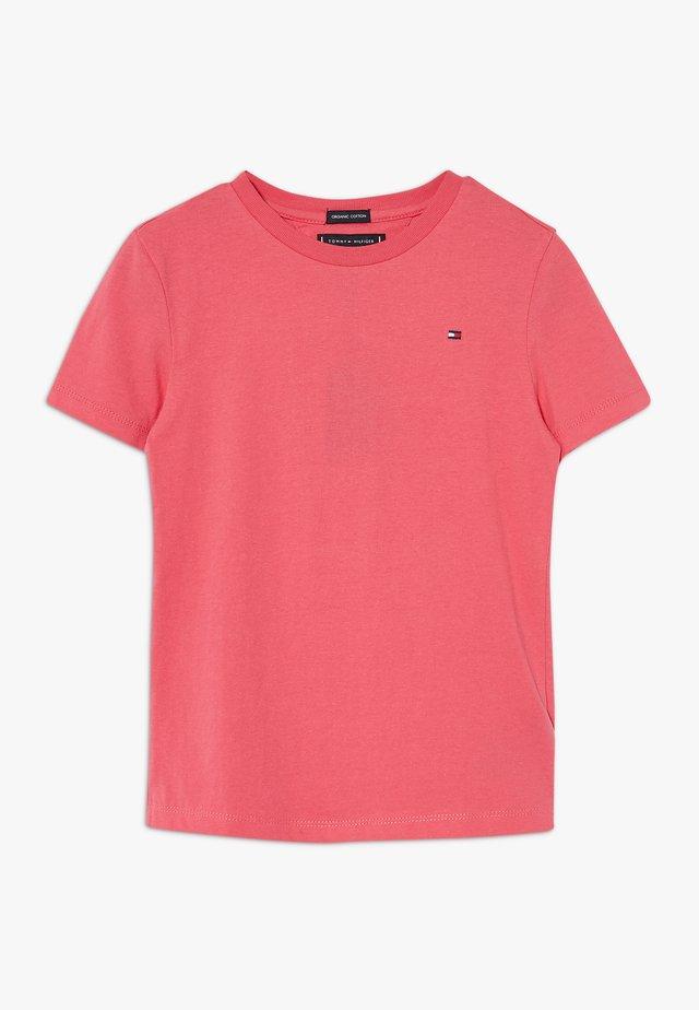 ESSENTIAL ORIGINAL TEE - Jednoduché triko - pink