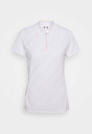 PERFORMANCE SPORTS GOLF SHORT SLEEVE - Polotričko - white